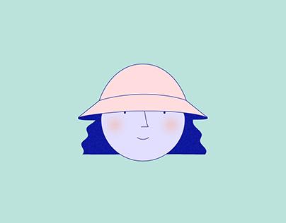 Flower Girl Animation
