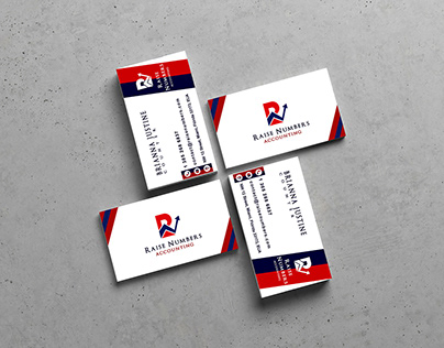 Cartão de visita/ Raise Numbers