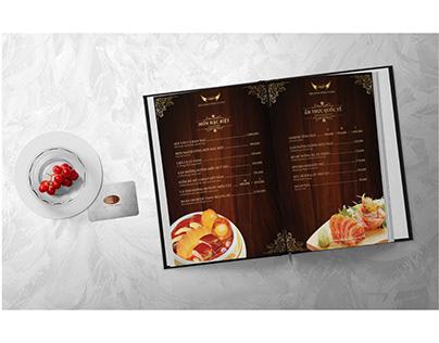 LAVONG Restaurant Project   Menu Design