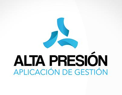 Alta Presión - Imagotype + App