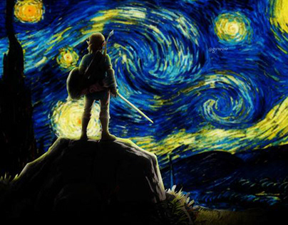 Link. The Starry Night