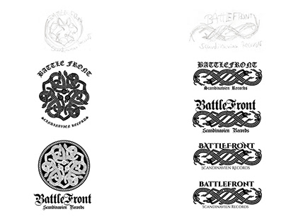 Battlefront: logo design and branding
