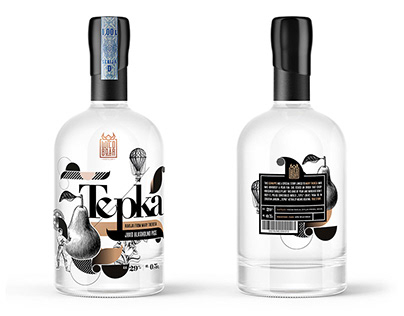 Wild Boar Distillery Branding and Packaging