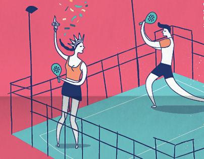 gráfica torneos invierno Club de Tenis Avilés