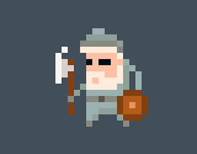 [Animations] Pixel character