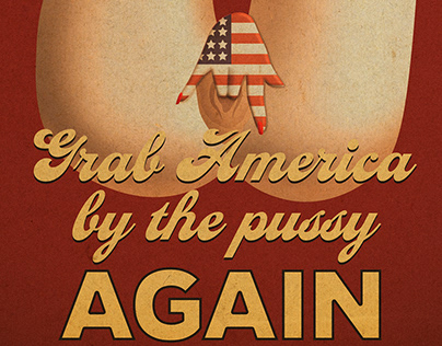 Trump Poster Design