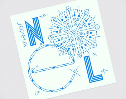 Joyeux Noël - Christmas Card