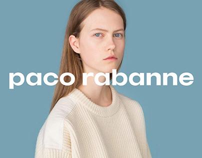 Paco Rabanne - Digital Rebrand