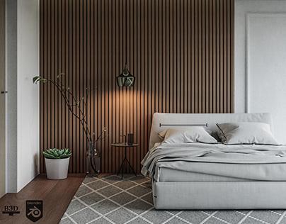 CGI - Modern Bedroom