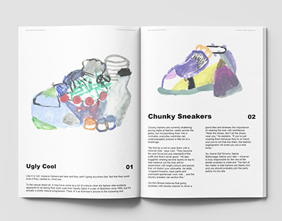 Ugly Sneakers Illustration project