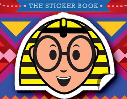 TUT sticker book