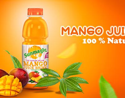 Social Media Mango Juice