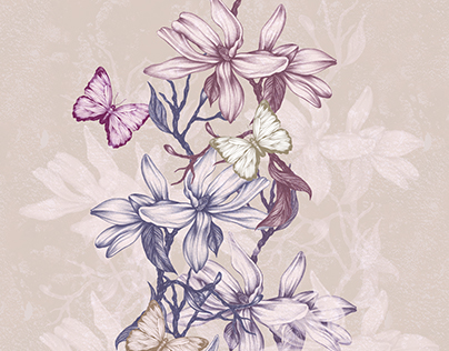 Butterly Inspired Blooms