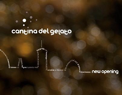 Cantina del Gelato / Brand Identity / Food