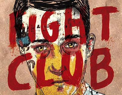 FIGHT CLUB - Diseño de tapa
