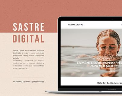 SASTRE DIGITAL | Identidad de marca & Diseño Web