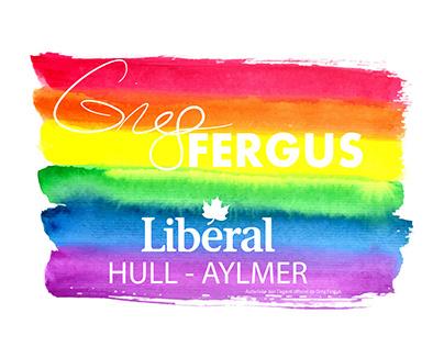 Greg Fergus Pride Logo