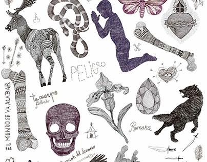 Cerca troba wallpaper design