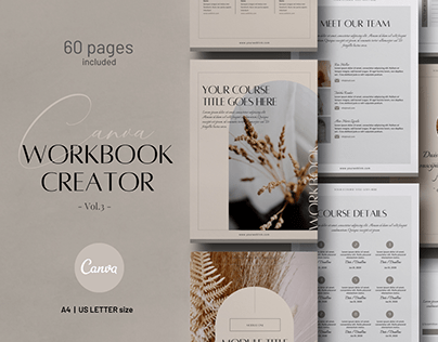 eCourse Workbook Creator CANVA