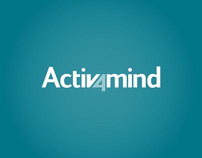 Activ4mind - Website, Logo and Branding