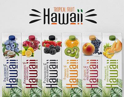HAWAII Juice Packaging