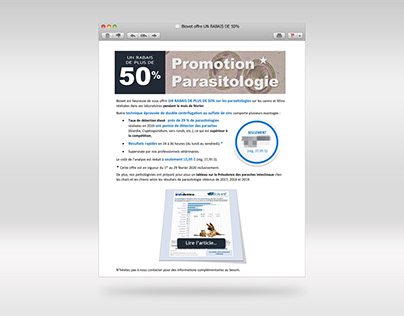Promotion emailing