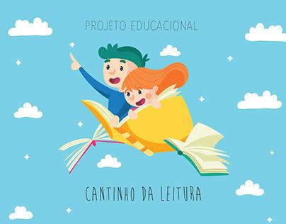 Projeto Educacional - Cantinho da Leitura