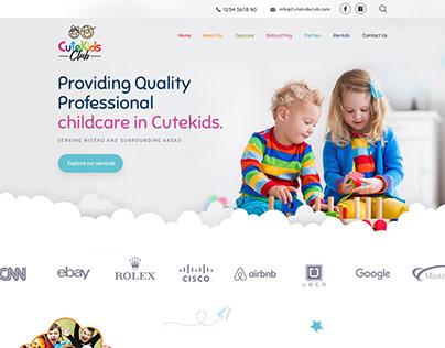 CuteKids club website
