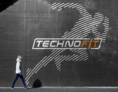 Techno Fit Logo&identic