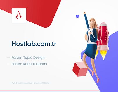 Hostlab Topic Design