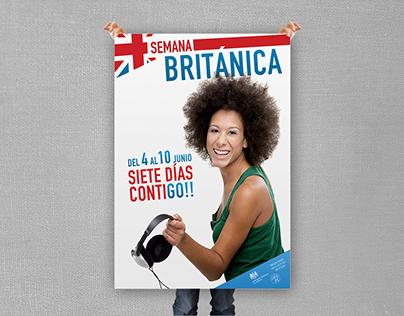 Semana cultural Británica en Cuba