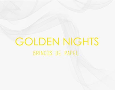 Golden Nights   Brincos de papel