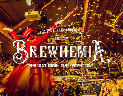 Brewhemia: Beer Palace, Kitchen, Caffe & Prosecco Bar