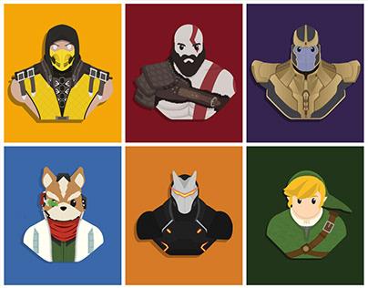 Character Illustrations 3