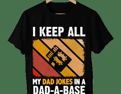 DAD-A-BASE T-shirt