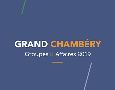 Grand Chambéry | Brochure Groupes & Affaires 2019