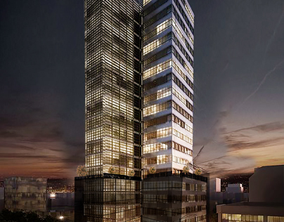 High Rise Building - Post Production