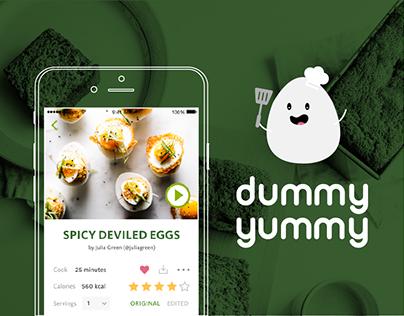 Dummy Yummy : A Cooking App