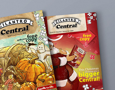 Cilantro Central Magazine