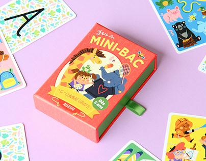 Jeu du Mini-Bac / Kids Card Game