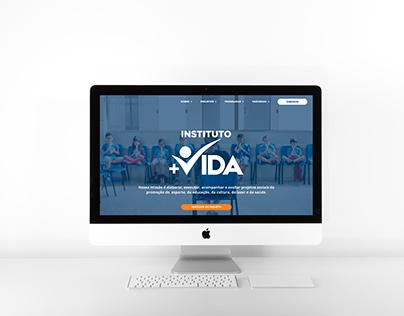Site | Instituto Mais Vida (Redesign)