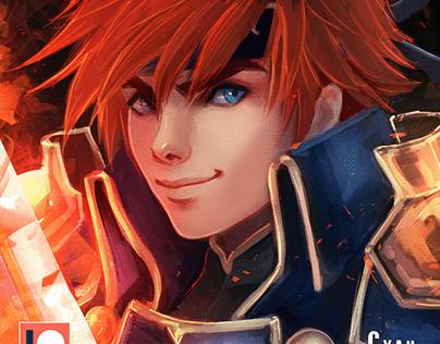 Blazing Lion Roy - Fire Emblem Package - Patreon