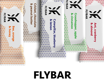 Flybar- An Energy Bar With Insects