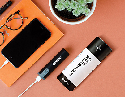 PowerVault Plus - small power bank charger