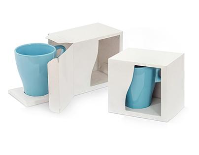 Opakowanie na kubek #ikea #minimal #white #packaging