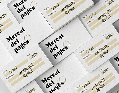 Mercat del pagès | branding