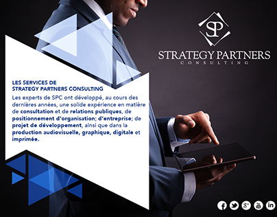 Corporate graphic design SPC consulting