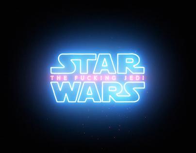 Star Wars logo animation