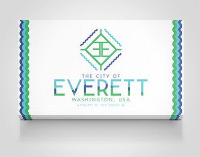 City Of Everett, Washington Logo Design