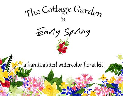 Watercolor Florals - Spring